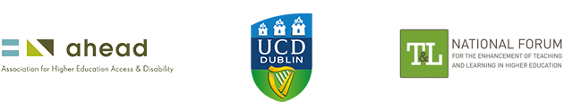 Digital Badge Partners - AHEAD, UCD Access and Lifelong Learning and the National Forum for the Enhancement of Teaching and Learning.