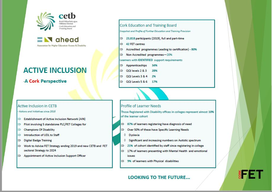 Image of preview of CETB Poster on Active Inclusion- A Cork Perspective