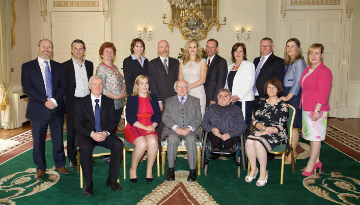 WAM Employers with President Michael D. Higgins<