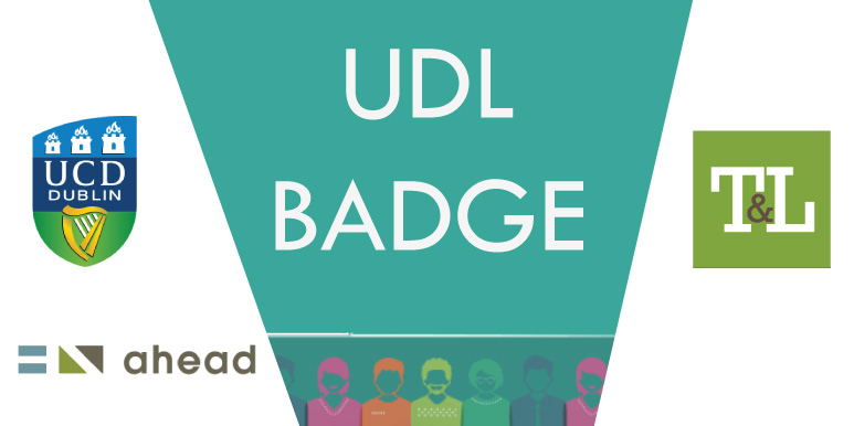 Digital Badge in UDL - Oct 1st - Dec 9th 2020