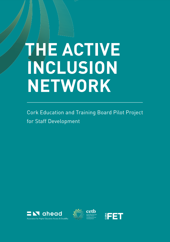 Active Inclusion Network: Cork Education and Training Board Pilot Project for Staff Development