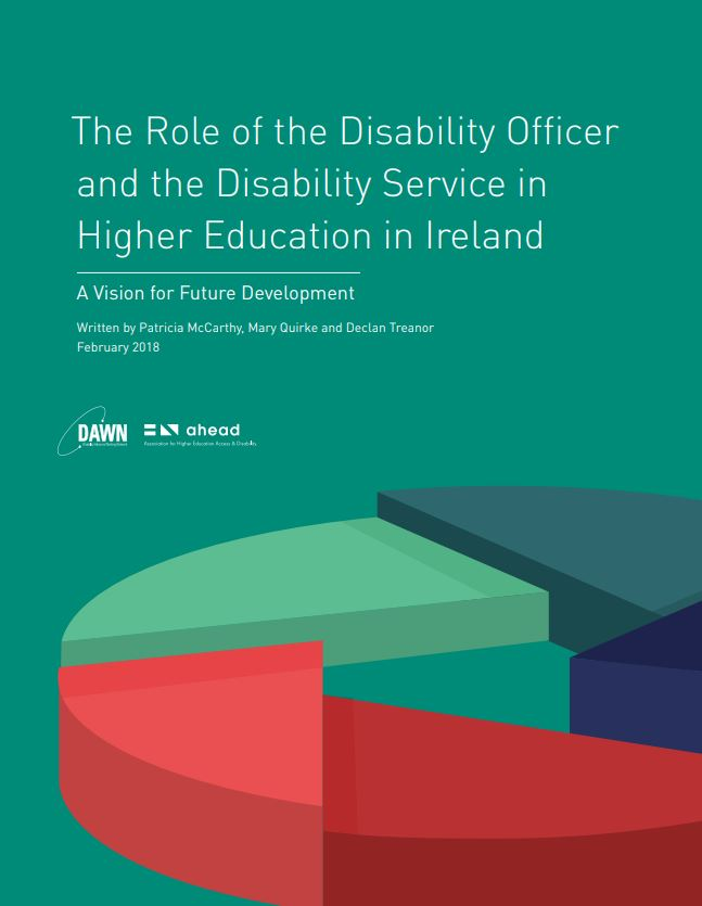 The Role of the Disability Officer and the Disability Service in Higher Education in Ireland