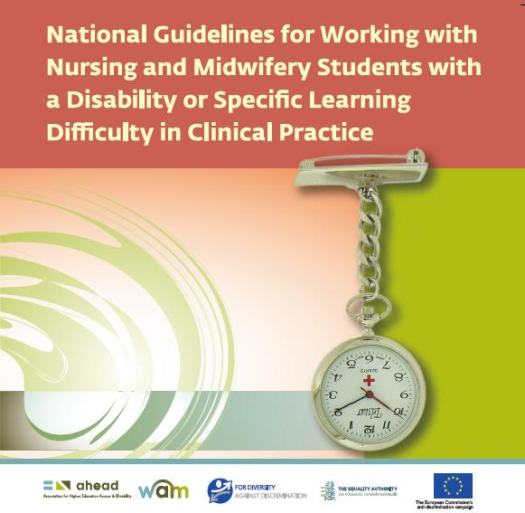 Working with Nursing & Midwifery Students with a Disability or SLD in Clinical Practice (PDF)
