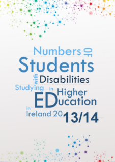 Numbers of Students with Disabilities Studying in Higher Education in Ireland 2013/14 (PDF)