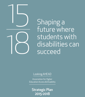 AHEAD Strategic Plan 2015-2018