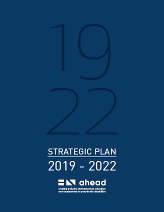 AHEAD Strategic Plan 2019 - 2022
