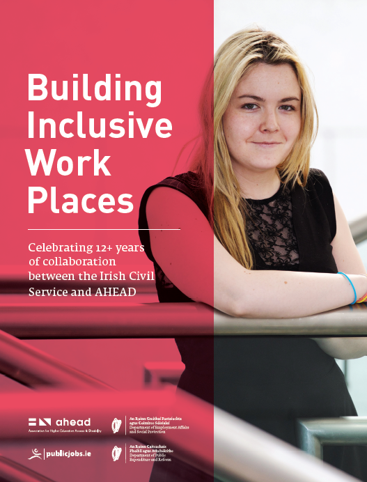 Building Inclusive Workplaces - AHEAD and Civil Service